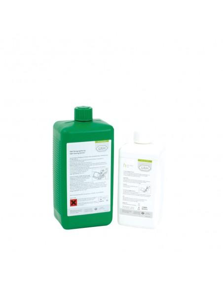 Čistící tekutina a mazací olej